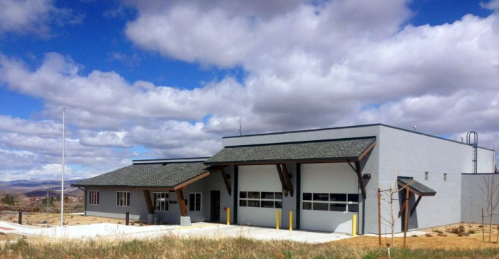 Truckee Meadows Fire Protection District station 36. / Photo by Lindsay Toste