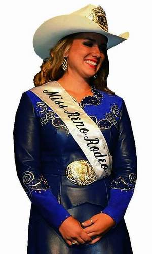Ashley Espin is the new Miss Reno Rodeo. / Fred Cornelius