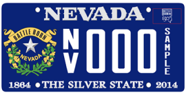 The new limited edition Silver State license plate design will soon go into production by the DMV.