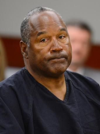O.J. Simpson appears at an evidentiary hearing in Clark County District Court on May 17 in Las Vegas. / AP Photo