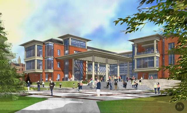 A rendering of Pennington Student Achievement Center. / Courtesy photo