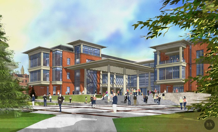 A rendering of Pennington Student Achievement Center. / Courtesy photo