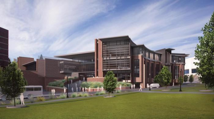 A rendering of the E. L. Wiegand Fitness Center / Courtesy photo