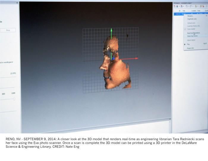 3D moel render