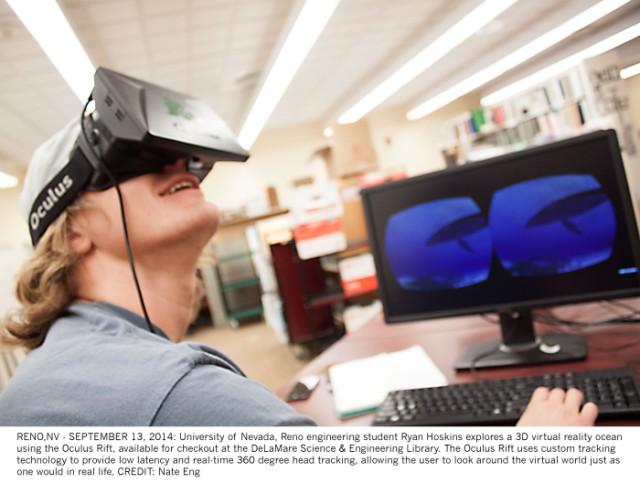 Virtual Reality ocean tour