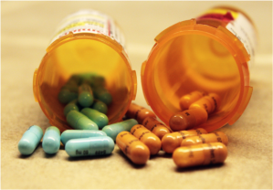 Vyvanse and Adderall pills