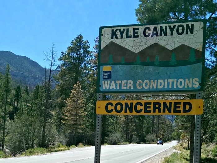 Kyle Canyon Water Concerns
